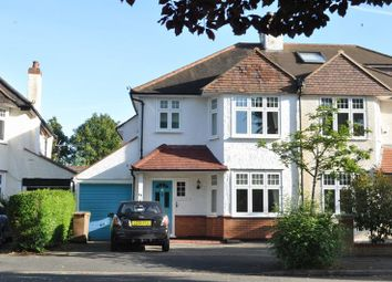 Thumbnail 3 bed semi-detached house for sale in Devon Road, Cheam, Sutton