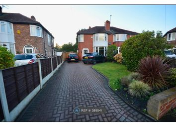 Thumbnail 3 bed semi-detached house to rent in Fairlands Road, Sale