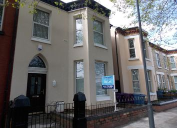 Thumbnail 3 bed flat to rent in Lesseps Road, Liverpool