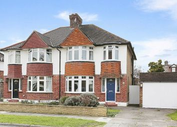 Thumbnail 3 bed semi-detached house to rent in Burberry Close, New Malden