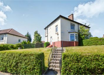 Thumbnail 3 bed semi-detached house for sale in Culross Street, Glasgow