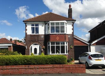 Thumbnail 3 bed detached house for sale in Preesall Avenue, Heald Green, Cheadle