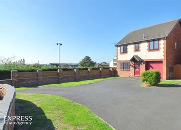 Thumbnail 4 bed detached house for sale in Buckley Close, Bramshall, Uttoxeter, Staffordshire