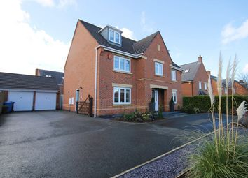 Thumbnail 5 bed detached house for sale in Arizona Crescent, Great Sankey, Warrington