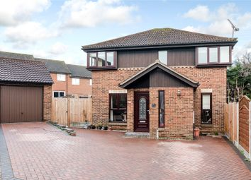 Thumbnail 4 bed detached house for sale in Forest Glade, Langdon Hills, Essex