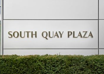 Thumbnail 3 bedroom flat for sale in South Quay Square, London