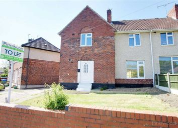 Thumbnail 4 bed semi-detached house to rent in North Grove, Chesterfield, Derbyshire