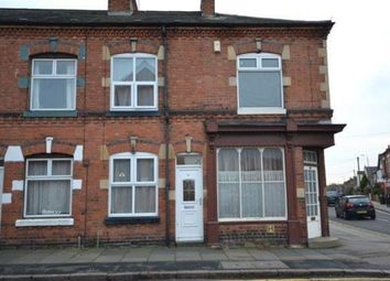 Thumbnail 3 bed terraced house to rent in Avenue Road Extension, Clarendon Park, Leicester