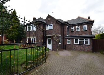 Thumbnail 5 bed detached house for sale in Barnston Road, Thingwall