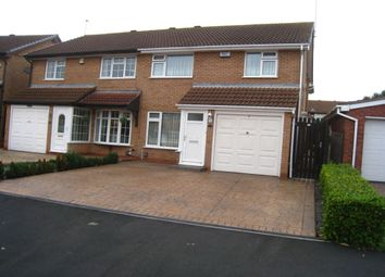 Thumbnail 4 bedroom semi-detached house for sale in Edgefield Road, Walsgrave On Sowe, Coventry