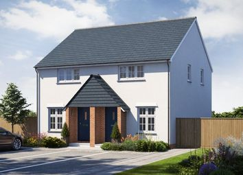 Thumbnail 2 bed semi-detached house for sale in Roscoff Road, Dawlish