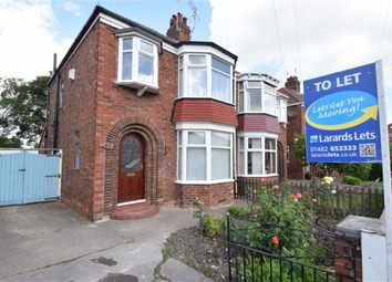 Thumbnail 3 bed semi-detached house to rent in Birklands Drive, Hull