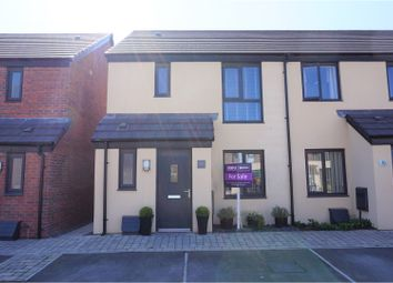 Thumbnail 3 bedroom end terrace house for sale in Harbour Walk, Barry