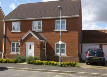 Thumbnail 4 bed detached house to rent in Sayers Crescent, Wisbech St Mary