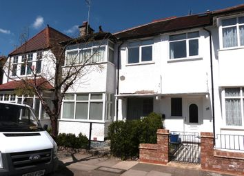 Thumbnail 4 bed terraced house to rent in Temple Gardens, London