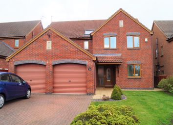 Thumbnail 4 bed detached house for sale in Rossendale Close, Fernhill Heath, Worcester