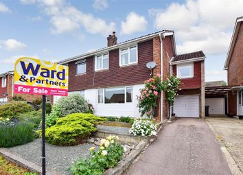 Thumbnail 3 bedroom semi-detached house for sale in Cedar Road, Sturry, Canterbury, Kent