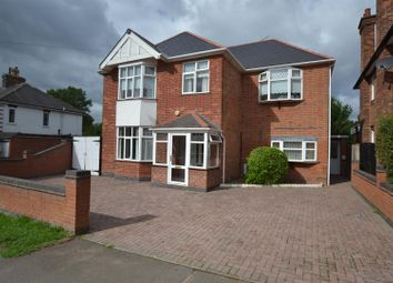 Thumbnail 4 bed detached house for sale in Seagrave Road, Sileby, Leicestershire