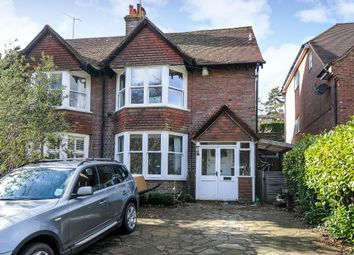 Thumbnail 4 bed semi-detached house to rent in Station Road, Amersham