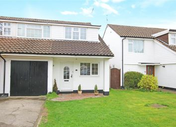 Thumbnail 4 bed semi-detached house to rent in Little Birch Close, New Haw, Addlestone
