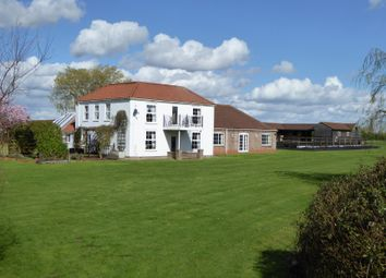 Thumbnail 5 bed equestrian property for sale in Sibsey - Boston PE22, Lincolnshire,