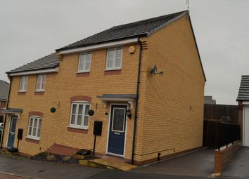 Thumbnail 3 bed semi-detached house for sale in Ampleforth Lane, Hamilton, Leicester