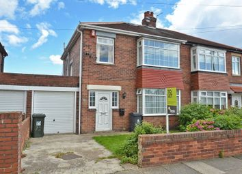 Thumbnail 3 bedroom semi-detached house to rent in Glanton Road, North Shields
