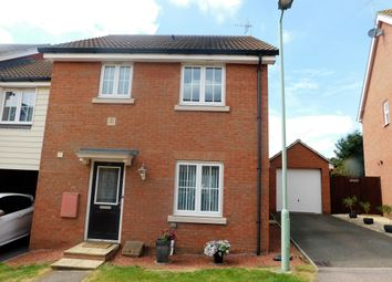 Thumbnail 3 bedroom link-detached house for sale in Eagle Close, Stowmarket