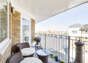 Thumbnail 2 bed flat to rent in Woolcombes Court, Princes Riverside Road, London