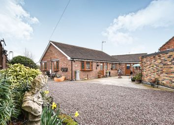 Thumbnail 3 bed detached bungalow for sale in The Peterleas, Donisthorpe, Swadlincote, Derbyshire
