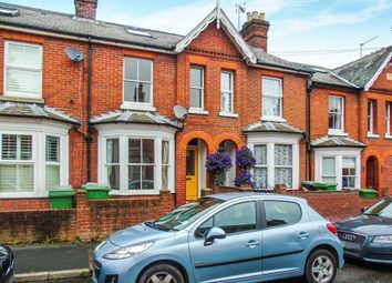 Thumbnail 3 bed terraced house to rent in Fairfield Road, Winchester