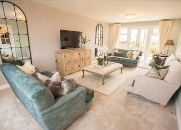 """Thumbnail 5 bed detached house for sale in """"Moorecroft"""" at Newton Lane, Wigston"""
