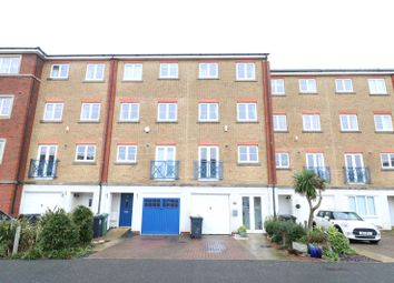 Thumbnail 4 bed terraced house for sale in St Kitts Drive, Sovereign Harbour South, Eastbourne