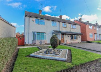 Thumbnail 3 bedroom semi-detached house for sale in Denby Close, Leamington Spa