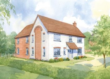 Thumbnail 4 bed detached house for sale in Gilden Drive, Gilmorton, Leicester