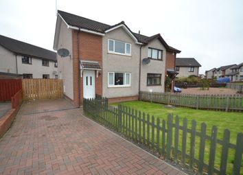 Thumbnail 2 bedroom semi-detached house to rent in Hirst Crescent, Fallin, Stirling