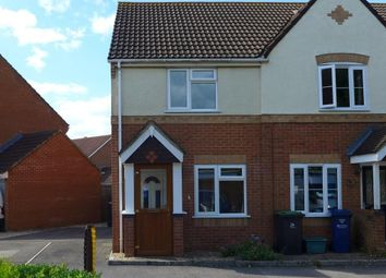Thumbnail 2 bed end terrace house to rent in Cloverfields, Gillingham