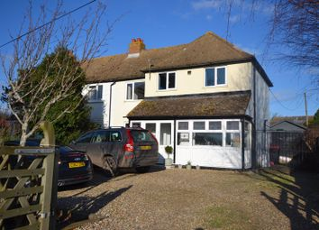 Thumbnail 4 bed semi-detached house for sale in Adisham Road, Bekesbourne, Canterbury