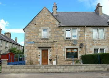 Thumbnail 2 bed flat for sale in Newmill Road, Elgin