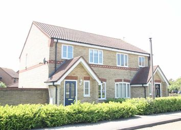 Thumbnail 3 bed semi-detached house to rent in Lanercost Crescent, Monkston, Milton Keynes