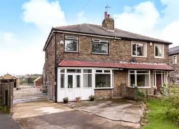 Thumbnail 3 bed detached house for sale in Tyersal Crescent, Tyersal, Bradford
