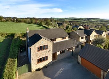Thumbnail 5 bed detached house for sale in Woodend Cottages, Woodend Road, Mirfield