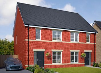 """Thumbnail 3 bed semi-detached house for sale in """"The Honiton"""" at Browney Lane, Browney, Durham"""