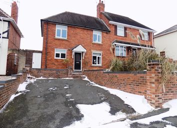 Thumbnail 3 bed semi-detached house for sale in Wood Road, Dudley