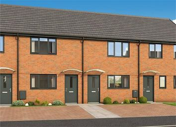 Thumbnail 2 bed terraced house for sale in The Lockton, Plot 231 Roman Fields, Manor Drive, Gunthorpe, Peterborough