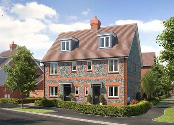 Thumbnail 3 bed semi-detached house for sale in Cresswell Park, Roundstone Lane, Angmering