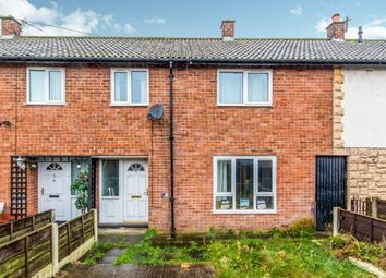 Thumbnail 3 bed terraced house for sale in Pickmere Close, Bridgehall, Stockport, Cheshire