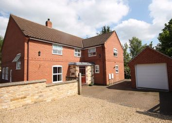 Thumbnail 4 bed detached house for sale in Lawrence Close, Market Overton, Oakham