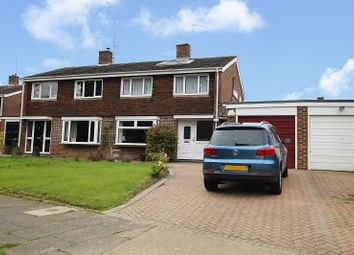 Thumbnail 4 bed semi-detached house for sale in Furnace Drive, Crawley, West Sussex.