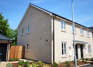 Thumbnail 3 bed property to rent in Racecourse View, Cottenham, Cambridge
